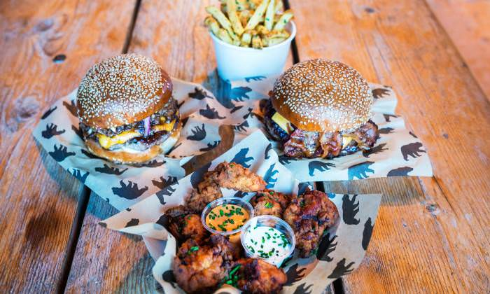 Boxpark Shoreditch Black Bear Burger 05