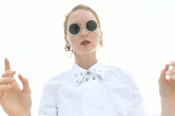 Lily Cole Wires Glasses v2